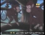 القرد والشجاعه   (حكايات قندس)