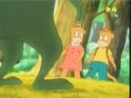 الرفاق الثلاثة الصغار  (الغابه الخضراء)
