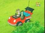 تعطل سيارة اللصوص (الغابه الخضراء)