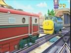 قطار وعربة الورق (مدينة القطارات)