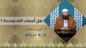 هل أسماء الله محددة ؟ | د.غريب رمضان