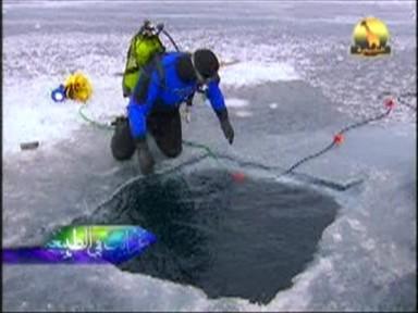 الغطس تحت الجليد (غرائب في الطبيعة)