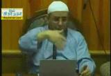 59-اتصال الصفوف ، كيف يصلي المأموم الذي يصلي إمامه جالسا من عذر والخلاف في ذلك ، من أكل ثوما