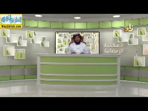 حوارحولالاعتكاف(25/5/2019)المكتبهالرمضانيه