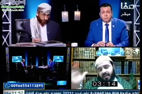 الحلقة14:مناظرةالضيفالشيخخالدالوصابيوأحمدالإمامي-كلمةسواءرمضان1440
