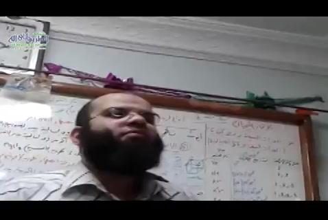 جولة الشيخ علي قاسم عند أحد مدرسي الثانوي 03