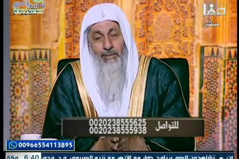 أولو العلم مع فضيلة الشيخ مصطفى العدوي (27/7/2019)