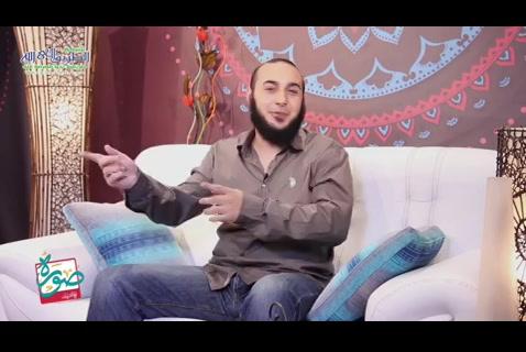 (16 ) سلمان الفارسي - صورة مع الصحابة