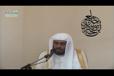 ''عشعبدًاللهتعتز''خطبةالجمعة