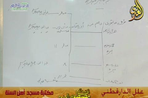شرح علل الدارقطني (الحديث 245)  22/8/2015