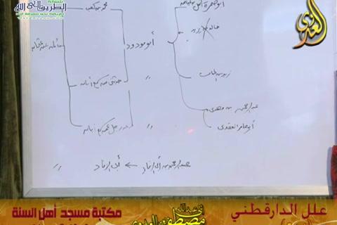 شرح علل الدارقطني (الحديث 254)  17/10/2015