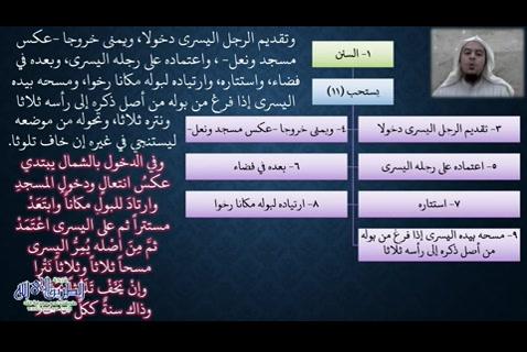 مع ملح الناد -  باب الاستنجاء -  شرح زاد المستقنع