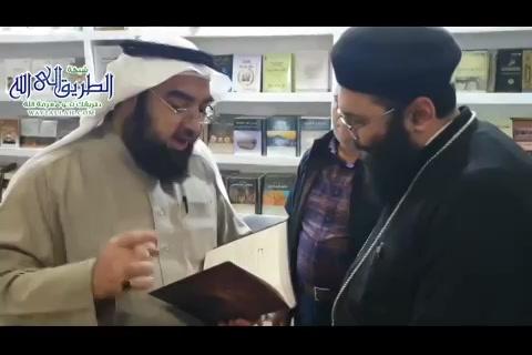بالفيديو..الحوارالذيجرىبينالحسينيوبينالقسيسوالراهب