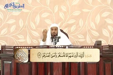 تفسير سورة محمد من الآية 16 إلى نهاية السورة
