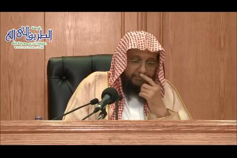 شرح كتاب روضة الناظر للإمام ابن قدامة - الأستاذ الدكتور محمد أحمد باجابر (30)
