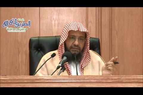 شرح كتاب روضة الناظر للإمام ابن قدامة - الأستاذ الدكتور محمد أحمد باجابر (8)