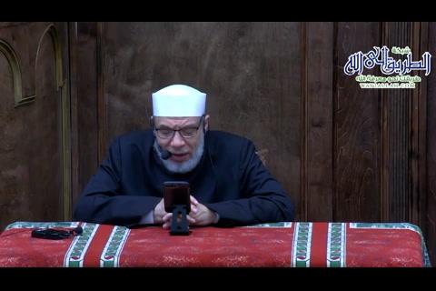 بلاء فقدان المساجد - درس بعد الفجر