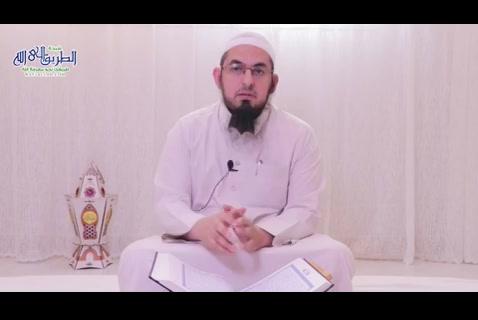 (11) مَن يَعْبُدُ اللَّهَ عَلَىٰ حَرْفٍ - وفيهم نزل القرآن