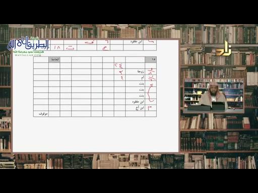 برنامج شرح كتاب التدريبات المُضيّة على المسائلِ الفَرَضِية  الحلقة 43