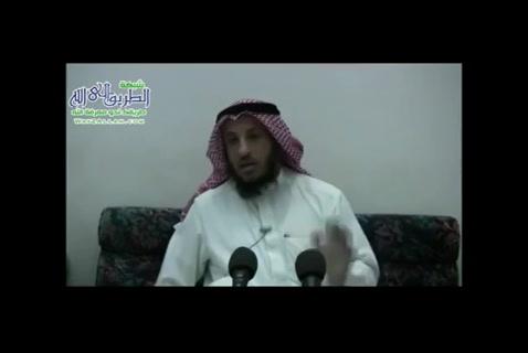 كلمة في شد الرحال - شرح أحاديث نبوية