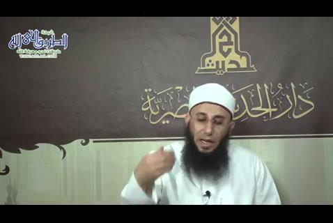 الدرس (33)كتاب الإيمان باب علامة الإيمان حب الأنصار -مجالس شرح صحيح الإمام البخاري