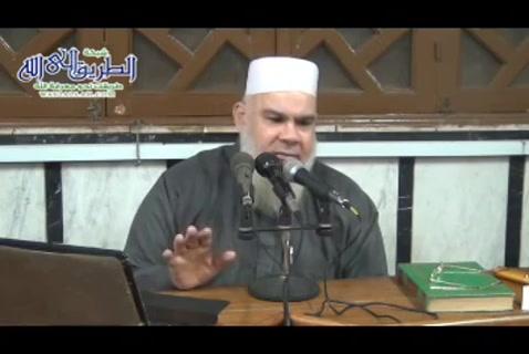 الدرس ( 58) التيمم واحكامه وهديه فيه - شرح كتاب زاد المعاد