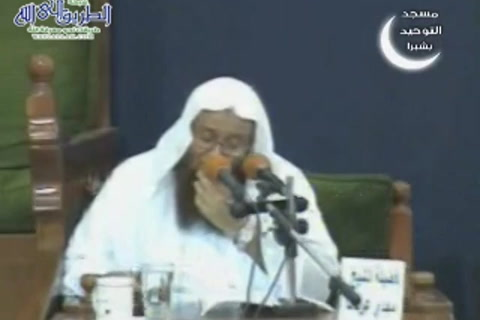 الدرس ( 6) شرح أصول السنة للإمام أحمد