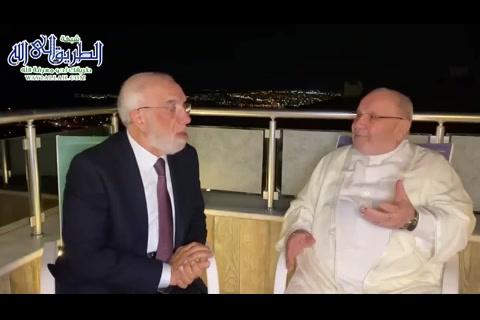 الدعوة والعبادة والتوافق النفسي - حوار مع الدكتور راتب النابلسي في منزله