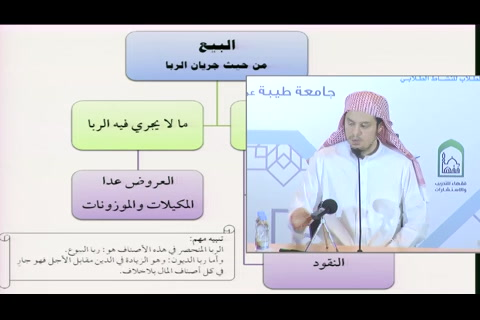 فقه المعاملات - (3 من 11) التأهيل الفقهي - فقه المعاملات 1437 (الشرح المعتمد)