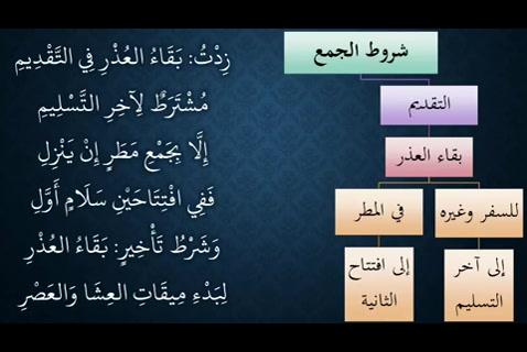 الدرس ( 13) باب الصلاة 7 -شرح الاحمرار على النظم الجلي في الفقه الحنبلي