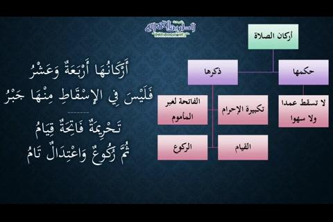 (9) أركان الصلاة (شرح النظم الجلي مع الاحمرار)
