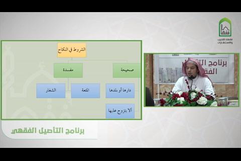 باب الشروط في النكاح - شرح قسم فقه الأسرة من عمدة الفقه