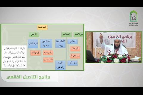 باب العدة - شرح قسم فقه الأسرة من عمدة الفقه