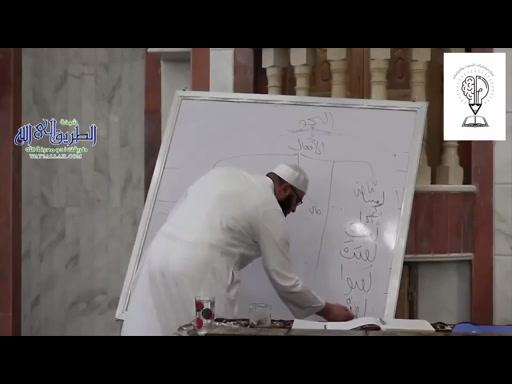 شرح متن ألفية ابن مالك -  المحاضرة الأولى - الجزء الثانى