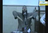 درس للدكتور حازم شومان بمسجد المُعز بمدينة بنها