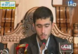 المتسابق حسين عباس كوه من إيران( 13/7/2013) مسابقة ليبيا الدولية لحفظ وتجويد القرآن الكريم